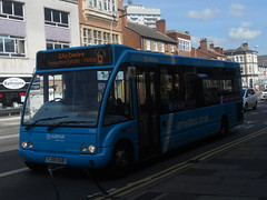 Arriva 2530 YJ09 OUB (Alex Swanston's Transport Photos) Tags: bus vehicle arriva optare solo optaresolo route6 2530 yj09oub outdoor road