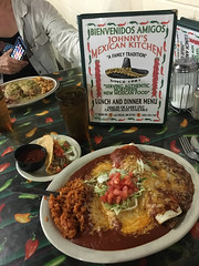 The ultimate New Mexican food combination plate! IMG_2442-editCC (Dave Krueper) Tags: newmexico food