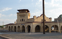 Raton, NM Amtrak depot (# 1131) (DB's travels) Tags: aznmco0617 amtrak newmexico southwestchief architecture depot railroad