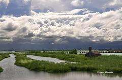Valle Sagreda. Parco delta del Po. (stefano.chiarato) Tags: vallesagreda parcodeltadelpo acqua cielo terra nuvole clouds water veneto italy nikond90