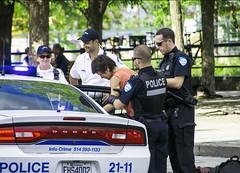 Bad Boy... Mauvais Garçon (Bob (sideshow015)) Tags: montreal quebec police security arrest detention nikon 7100 sigma crime arrêté canada bad retenue