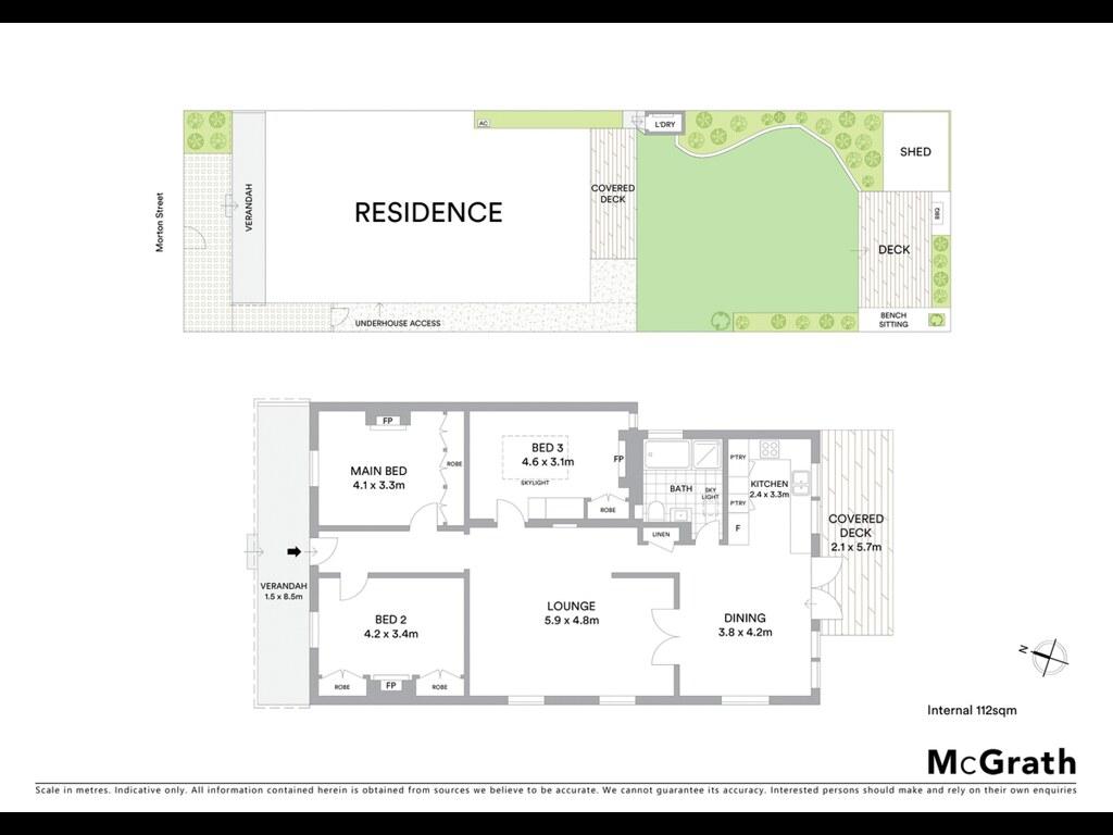 12 Morton Street floorplan
