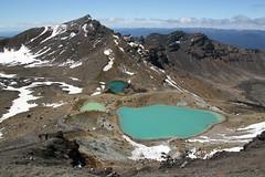 Tongariro (Jeroen Prins Photography) Tags: lake landscape tongariro newzealand volcano snow meer landschap emerald