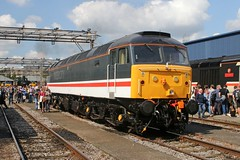 47828 Old Oak Common 2nd September 2017  E1880 (focus- transport) Tags: trains old oak common open day classes 31 47 50 57 180 800 d british railways br oliver cromwell tornado colas gbfr gbrf gwr hst rail operations group railcar diesel steam great western railway high speed train gb freight