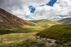 Rugged Wales (Howie Mudge LRPS BPE1*) Tags: landscape nature ngc photo photography photographer sky clouds hills mountain gwynedd wales cymru uk outside outdoors walk walking travel travelling traveller rugged terrain valley grass bracken fields vista scene scenery scenic moody light summer 2017