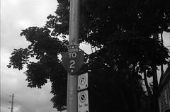 Old Highway Two (Alex Luyckx) Tags: toronto ontario canada tfs torontofilmshooters tfsm torontofilmshootersmeetup thebeach thebeaches neighborhood queeneast queenstreet lake beach simcoeday weekend photowalk lakeontario rcharriswatertreatmentplant theremarkablebean nikon nikonfa slr 135 35mm aisnikkor50mm114 yellow15 efke efkekb100 asa100 kb100 bw blackwhite pyrocathd pyro photographersformulary epsonv700 adobephotoshopcc film filmphotography believeinfilm filmisalive filmisnotdead