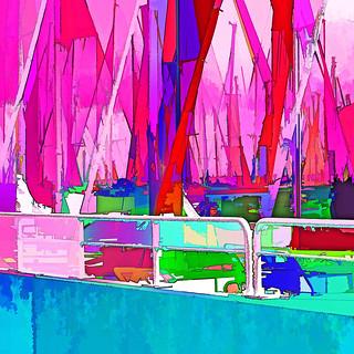 sailboat harbor IV