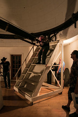 Ladder/staircase (Tomek Mrugalski) Tags: atmob morrison observatory fayette missouri telescope refractor