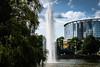 Fountain (Sommer, Peter) Tags: messe fountain springbrunnen park a6300 frankfurt outdoor sel35f18 mirrorless sony fontäne