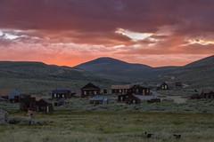 P8263987 (whyworry2010) Tags: bodie statepark california dusk sunset ruins shacks mining