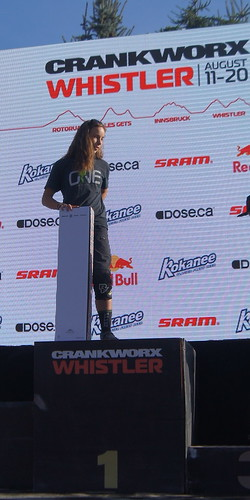 Crankworx Princess podium