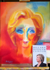 Hillary Rodham Clinton: Her New Book & Art by Stephen B Whatley. 2017 (Stephen B. Whatley) Tags: hillaryclinton hrc clinton whathappened hillaryrodhamclinton mrsclinton secretaryclinton hillaryrodhamclintonwhathappened book simonschuster barnesnoble york election2016 newyork nyc usa us clintonbook hillary barackobama uspolitics debates tv ukeditionofwhathappened whathappenedbyhillaryrodhamclinton art expressionism cntemporaryart modernart expressionistart oilpainting painting easel artistseasel portraitofhillaryclinton paintingofhillaryclinton toweroflondonpaintings toweroflondonartist towerhillunderpass londontransportmuseum westminstercathedral london timemagazine time theguardian towerhillstation queenelizabethii queenelizabeth theroyalcollection stephenbwhatley artiststephenwhatley whatley artiststephenbwhatley modernpaintings contemporarypaintings cityoflondon america american whathappenedbookbyhillaryclinton abigfave anawesomeshot blueribbonwinner flickrunitedwinner