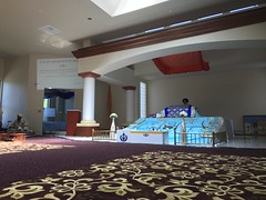 view of the prayer hall