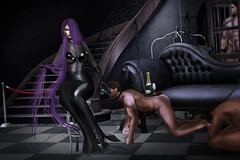 Ferosh Summer 2017: Sex Dreams (Venus Germanotta) Tags: secondlife fashion fierce stunning bdsm sex dreams slave submissive dominant dominatrix badbitch boss aesthetic longhair moon purple weave lavender latex black vintage hotel rich classy sexy power graphicdesign design photoshop edit editorial furniture lavish luxury pet sub interior mansion gorgeous glamour chic hautecouture highfashion fashionista sheer cunty lighting perspective photography men lust category ferosh magazine publication summer slay model pose props fantasies dirty scandalous fabulous rapunzel