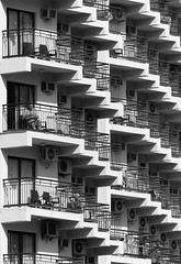 ...and again (Andy WXx2009) Tags: architecture urban buildings blackandwhite apartment airconditioning monochrome terrace artistic abstract streetphotography structure outdoors modern tower skyline skyscrapers rooms holiday tourism benidorm espana hotel costablanca spain cityscape geometry