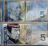 Spocking (Estellanara) Tags: canadian five dollar bill fiver spock spocking nimoy star trek