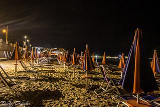 la spiaggia di notte !