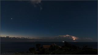 Nightscape of Corsica