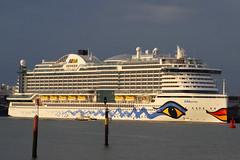 regular visitor (David Blandford photography) Tags: southamptonwater aida prima southamptondocks cruise liner