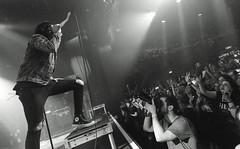 Sleeping With Sirens (Brian Krijgsman) Tags: sleepingwithsirens melkweg amsterdam powerfest 2017 live concert photos photography nikon d4s iso25600 film grain blackandwhite monochrome zwart wit bw rock band music kellinquinn jackfowler gabebarham nickmartin justinhills warnerbrosrecords themax