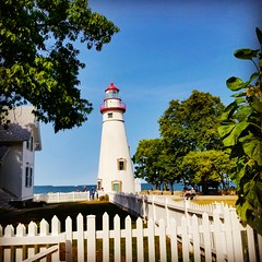 Marblehead Lighthouse on Lake Erie! (Edale614) Tags: lakeerie lake lakeside lighthouse marblehead ohio