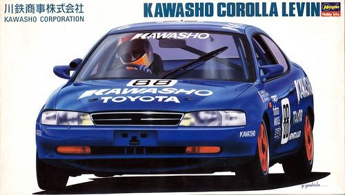 AE101 Toyota Corolla Levin Racing Team Kawasho Class 3 1992