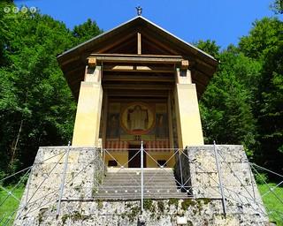 Schwabenalb - Schwäbische Alb > Naturpark Obere Donau - Kapelle St. Maurus 1868-1870 erbaut / Swabian Alb> Upper Danube Nature Park