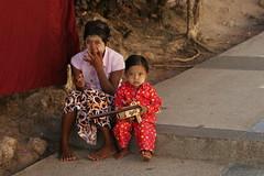Double Portrait (Mom & Son) (Sergei P. Zubkov) Tags: myanmar portrait people december 2009