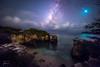 The Milky Way + bright meteor + bioluminescence (josefrancisco.salgado) Tags: 1424mmf28g alaska antillasmayores astronomy atlanticocean caborojo caribbeansea d810a eagleriver greaterantilles lavíaláctea marcaribe nikkor nikon océanoatlántico puertorico themilkyway westindies astrofotografía astronomía astrophotography bioluminescence bioluminiscencia cielonocturno cloud clouds estrellafugaz estrellas exposiciónlarga fauna longexposure mar meteor meteoro night nightsky nube nubes ocean océano sea shootingstar stars pr jfsdpr032