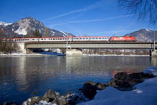 ÖBB 1216 013 + EC 286 Innsbruck Hbf - München Hbf  - Brixlegg