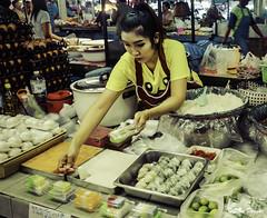 DSCF4400 (Steve Daggar) Tags: chiangmai thailand travel buddhist monk markets street candid asia