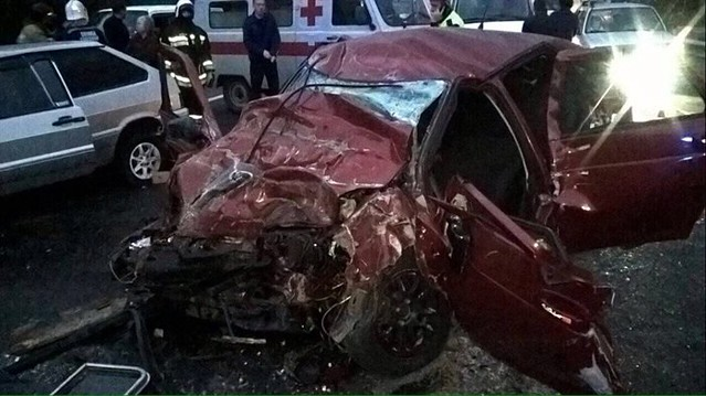Два человека погибли встрашном ДТП савтобусом под Ульяновском