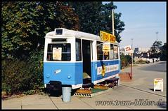 Lowa-Bw-1991-10-04-1-Bahnhof (steffenhege) Tags: gera strasenbahn tram beiwagen lowa ex234