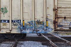 (o texano) Tags: houston texas graffiti trains freights bench benching sekt hd