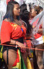 DSC_3449b Notting Hill Caribbean Carnival London Exotic Colourful Costume Showgirl Performer Aug 28 2017 Stunning Big Beautiful Woman Flag of Guyana South America