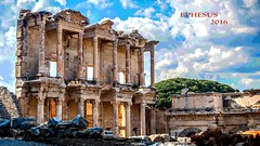 EPHESUS Ancient City.  Unesco World Heritage List.  Celsus Library. (Feridun F. Alkaya) Tags: ephesus turkey selçuk temple unescoheritagelist librarycelsus greek history unc roman archaeology arkeoloji tarihi ancient ngc celsuslibrary hellenistic theatre unesco türkiye ephesusancientcity efes unescoworldheritagelistcelsuslibrary