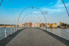 Willemstad Curacao Queen Emma Bridge