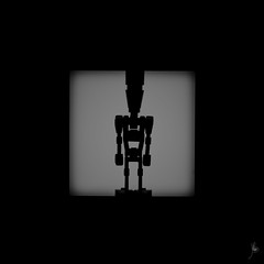 Shadow (396/100) - IG-88 (Ballou34) Tags: 2017 7dmark2 7dmarkii 7d2 7dii afol ballou34 canon canon7dmarkii canon7dii eos eos7dmarkii eos7d2 eos7dii flickr lego legographer legography minifigures photography stuckinplastic toy toyphotography toys courbevoie îledefrance france fr 7d mark 2 ii eos7d stuck plastic nanterre puteaux blackwhite light shadow photgraphy enevucube minifigure 100shadow star wars bounty hunter dengar sw starwars ig88 droid assassin