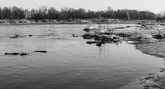 Ile Saint Bernard (Switzer67Fotografie) Tags: blackandwhite landscape landscapephotography landscapephotos water winterscene winter ice snow nikond300 nikoncanada nikon