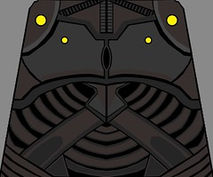 Yuuzhan Vong Tors (Gabriel Fett) Tags: wars star lego yuuzhan vong eu expended universe outer rim hive armor face white water slide decals decal