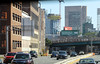 IMG_2767 (kz1000ps) Tags: boston massachusetts masspike turnpike i90 highway traffic fenway backbay onedalton fourseasons tower skyscraper construction concrete core