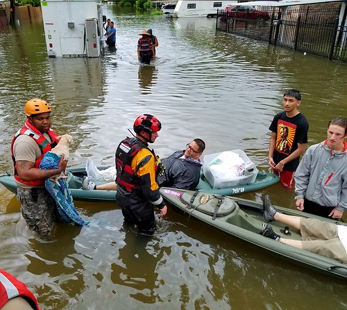 Texas National Guard helping victims of Hurricane Harvey