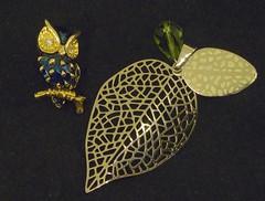 Bling-Bling ?  Vanitas ! (simonpfotos) Tags: smileonsaturday blingbling jewel owl leaf