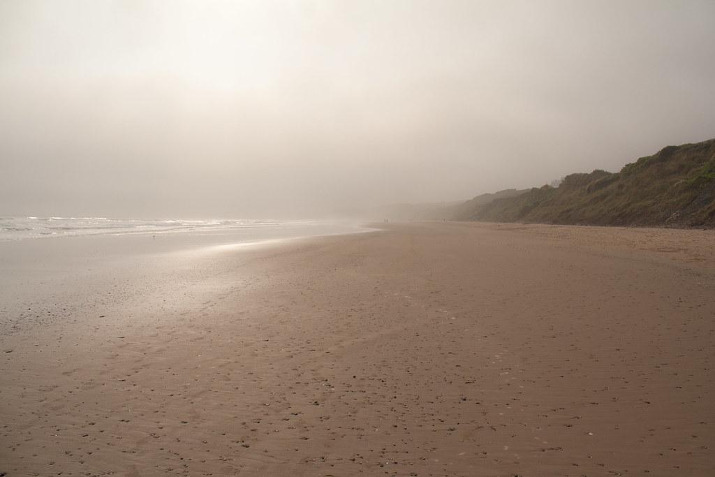 Filey Beach Fog