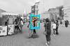 La photo-souvenir (Vincent Rowell) Tags: raw photoshopped baku azerbaijan tourism sigma816mm southcaucasus2017 bakuoldtown flametowers touristphotoframe selectivecoloring explore