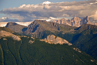 Evening in the Dolomites