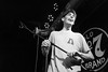 Remo Drive @ Will's Pub, August 2017 (Alexa-Jane) Tags: remo drive mccafferty rocko english indie bands music live gig show concert blackandwhite grainy faded bar venue pub wills rock