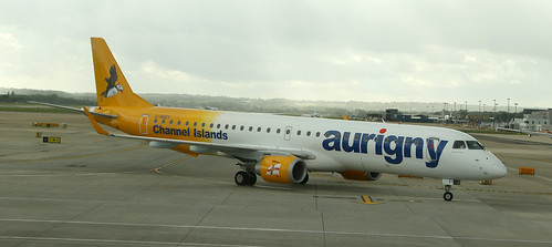 Aurigny Air Services / Embraer 190-200 / G-NSEY