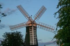 Holgate Windmill sunset, August 2017 - 1
