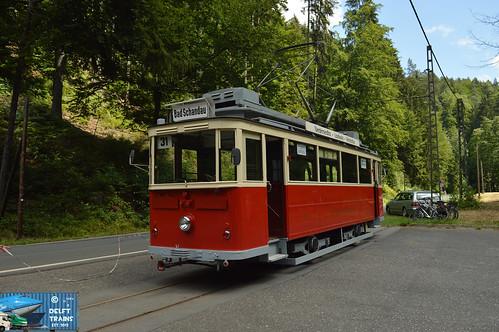 Lockwitztalbahn Tram 9 (Bautzen Motorwagen) - Sebnitz (Kirnitzschtalbahn)